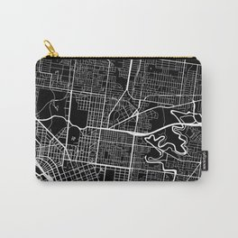 Street MAP Melbourne // Black&White Carry-All Pouch