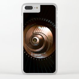 Chocolate stairs Clear iPhone Case