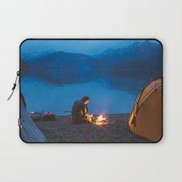 Camp on North Sea Island Laptop Sleeve