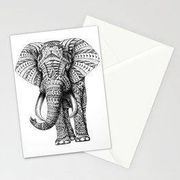 Ornate Elephant Stationery Cards