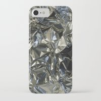 metallic iPhone & iPod Cases featuring Metallic by Shannice Wollcock