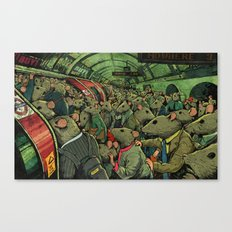 Tube Rats Canvas Print