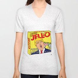 Donald Trump Immigration Lemon Jell-O Art - Single Box Unisex V-Neck