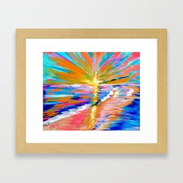 Energy of Life. Art for Health and Life Collection Framed Art Print