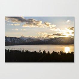 Top Floor Lake Tahoe Canvas Print