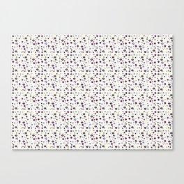 Cultivating Creature Confetti Canvas Print