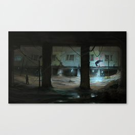 Don't step into Anomaly Canvas Print