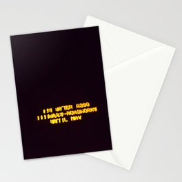 wordfeck Stationery Cards