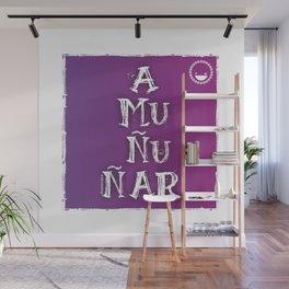 """""""Amuñuñar"""" Wall Mural"""
