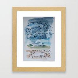 Watercolor 03 Framed Art Print