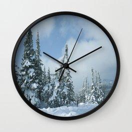 Winter day 15 Wall Clock