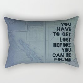Lost and Found Rectangular Pillow
