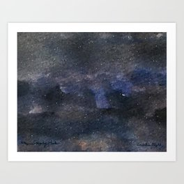 Endless Night Art Print