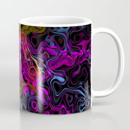 Psychedelic Rainbow Coffee Mug