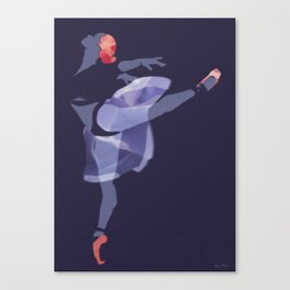 Suspended Movement Canvas Print