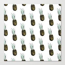 Take my pineapple! Pattern :) Canvas Print