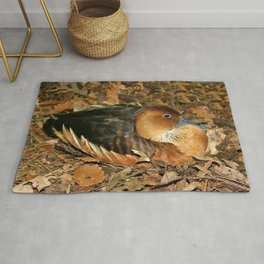 Fulvous Whistling Duck Rug