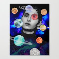 spaced out. Canvas Print