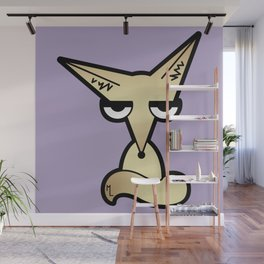 Weary Fennec Wall Mural