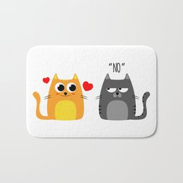 Disappointing relationship Bath Mat