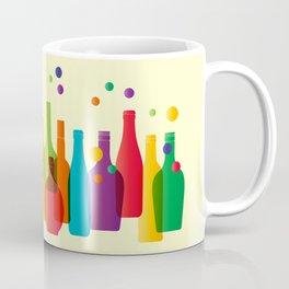 Colored bottles Coffee Mug
