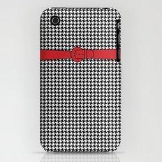 Houndstooth (Pepita) Slim Case iPhone (3g, 3gs)