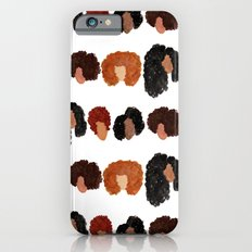 Natural Hair Girls Slim Case iPhone 6s