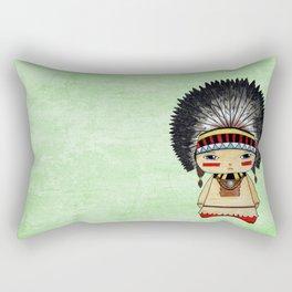 A Boy - American indian Rectangular Pillow