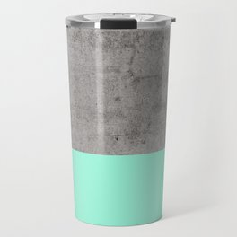 Sea on Concrete Travel Mug