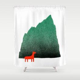 Man & Nature - Island #1 Shower Curtain