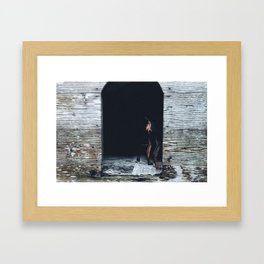 Exceptional Normalcy - neighborhood laugh softly Framed Art Print