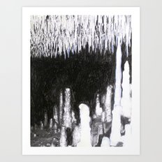 Cave Drawing IV Art Print