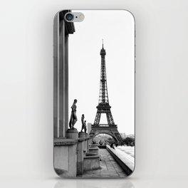 Trocadero Eiffel Tower Paris iPhone Skin