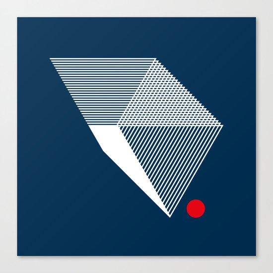 V like V Canvas Print
