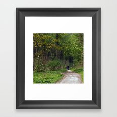 Millington Wood. Framed Art Print