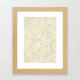 wallpaper obstacles Framed Art Print