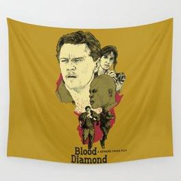 Blood Diamond Wall Tapestry