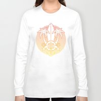 hawaii Long Sleeve T-shirts featuring Hawaii by Aniskova Yulia