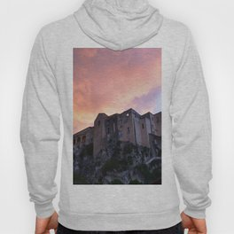 Tropea In Calabria At Sunset Hoody