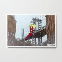 Blankman in Dumbo Metal Print