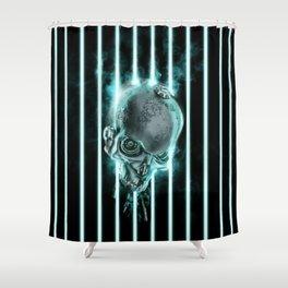 System Shutdown Shower Curtain
