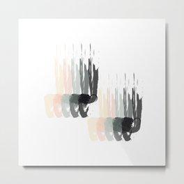 Gentle Rain Metal Print