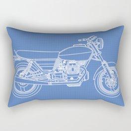 Moto Guzzi Rectangular Pillow