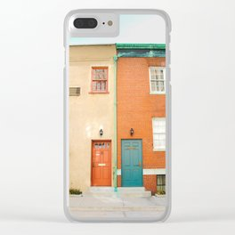 NYC Vintage Clear iPhone Case