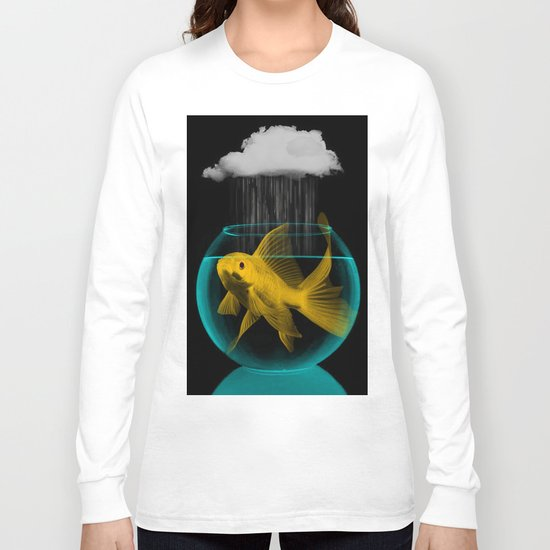 A fish out of water Long Sleeve T-shirt