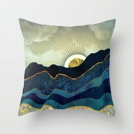Post Eclipse Throw Pillow