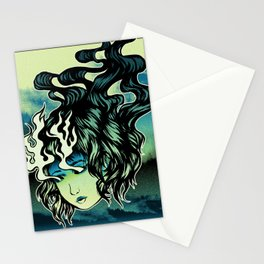Flame Eyes Color Stationery Cards