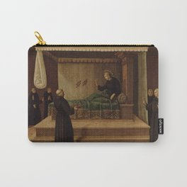 Raphael - Saint Nicholas of Tolentino Restoring Two Partridges to Life Carry-All Pouch