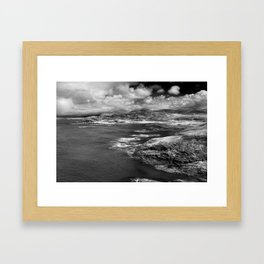 Scottish Bays Framed Art Print