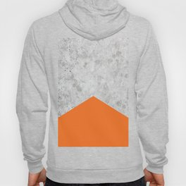 Concrete Arrow - Orange #118 Hoody